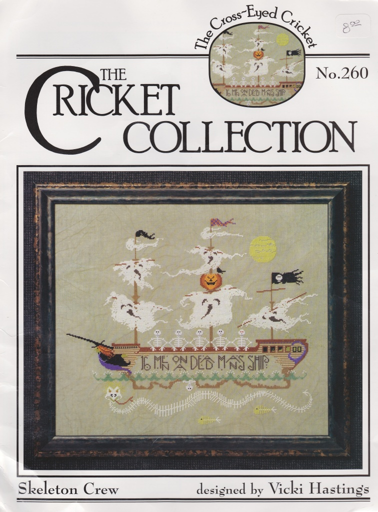Cross-Eyed Cricket Skeleton Crew Cover Picture