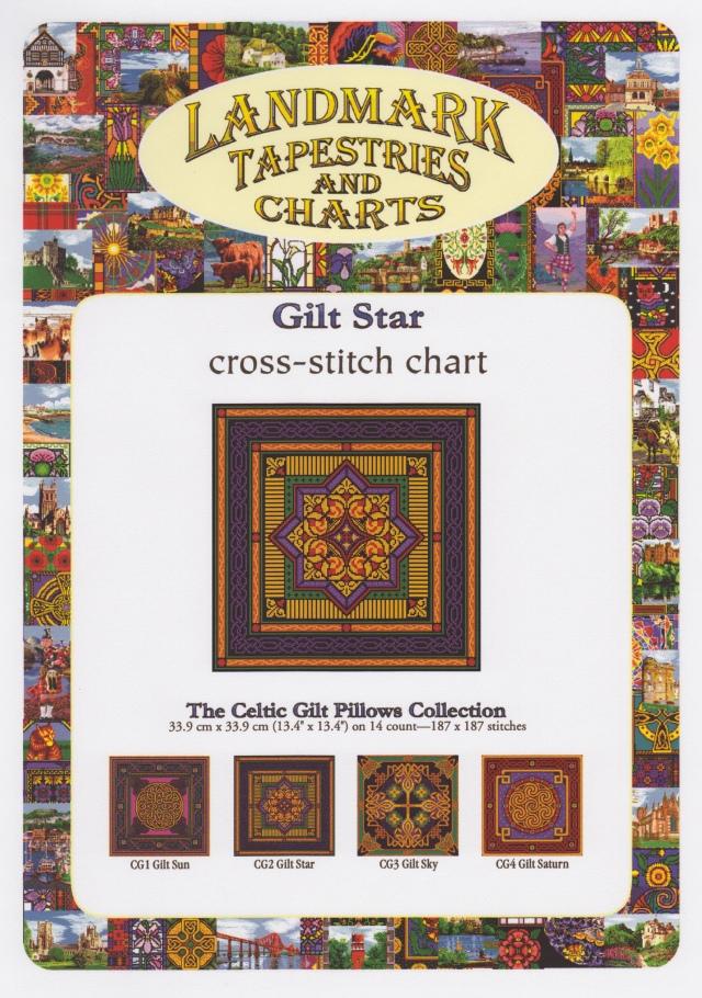 Landmark Tapestries and Designs Camus International Celtic Gilt Pillows