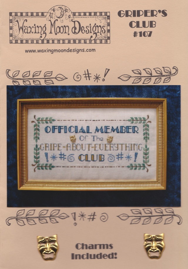 Official Member of the Gripe-About-Everything-Club by Waxing Moon Designs