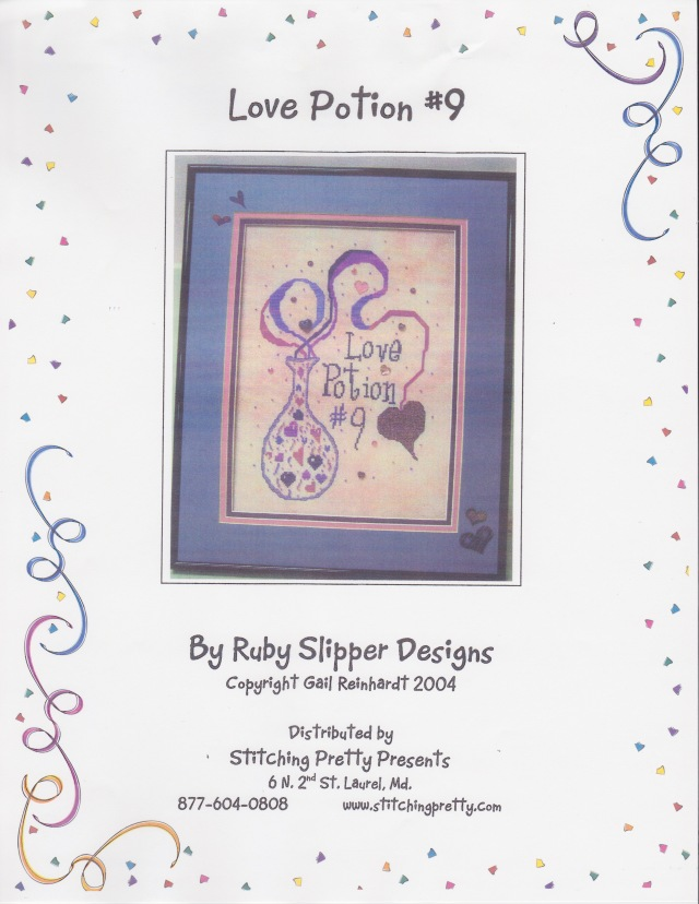 Love Potion Number Nine Ruby Slipper Designs Sitting Pretty Presents